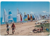 17 - Catamarans on a Redcliffe beach