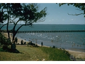 30 - The pier at Shorncliffe around the 1950's