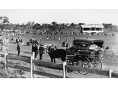 54 - Australian Rules game at Memorial Park, Wynnum in 1928