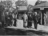 57 - Ye Olde Wishing Well at Lone Pine in 1936