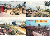6 - Mt Coot-tha postcards