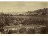 100 - An 1868 photo looking from the site of what is now Albion Park Raceway to Newstead
