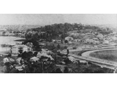 102 - Mouth of Breakfast Creek from Torak Hill in early 1900's