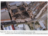131 - Aftermath of 1990 Wool Store fire