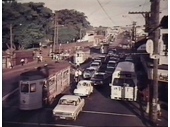 37 - Busy traffic on Stanley Street with the Gabba on the left