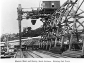 3 - Electric Hoist and Gantry at the Coal wharves at South Brisbane