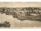 45 - Early photo of Kangaroo Point from Bowen Terrace