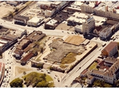 84 - Cathedral Square before the Cathedral Apartments were built