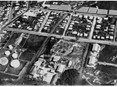 90 - An aerial view of Bowen Hills before Queensland Newspapers moved there in 1963