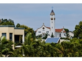 97 - Our Lady of Victories Catholic church, a Polish church built in the Spanish mission style in 1925
