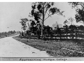 121 - View of Nudgee College from Sandgate Road in 1921