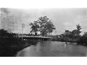 129 - Bridge over Cabbage Tree Creek in 1921