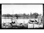 130 - Drews Boathouse on Cabbage Tree Creek in 1919