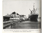 15 - Ship loading at a Hamilton wharf