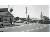 165 - A Bald Hills petrol station on Old Gympie Road around the 1950's