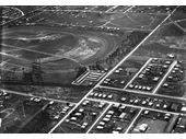 24 - Eagle Farm Racecourse and surrounds from the air in 1919