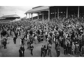 25 - Crowd at Eagle Farm Racecourse in 1940