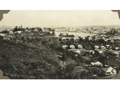40 - Looking towards Newstead from Bartley's Hill (north of Toorak Hill) in 1929