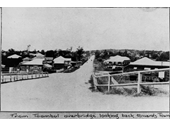 45 - Looking along Sandgate Road toward Clayfield from the Toombul Bridge in 1921