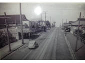 61 - Lutwyche Road, Windsor around 1940 looking south from the railway bridge