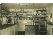 72 - A Stafford grocery store around the 1940's
