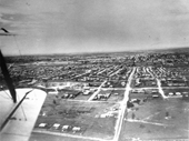 75 - Wilston and Kedron seen from the air around 1930