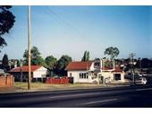 76 - A 1970's photo of the petrol station across Gympie Road from the Kedron Park Hotel