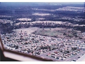 100 - Acacia Ridge from the air around the 1970's