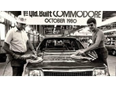 101 - The first Commodore is rolled off the assembly line at the Acacia Ridge GM factory