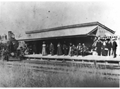 102 - Sunnybank rail station soon after the Beenleigh line was completed in 1885