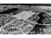 116 - An aerial view over Inala around the 1950's