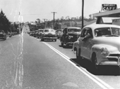146 - Boxing Day traffic jam on City Road, Beenleigh in 1956