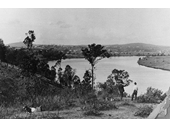 2 - Looking across to Fairfield and St Lucia from Dutton Park around the 1920's