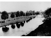 52 - An early photo of Bulimba Creek in the Belmont area