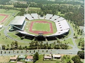 92 - The QEII Stadium which hosted the 1982 Commonwealth Games