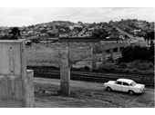 102 - Construction of the Albion Road overpass in 1961