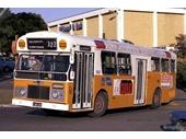108 - A Brisbane City Council bus leaves Garden City