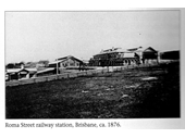 10 - Roma St railway station in 1876