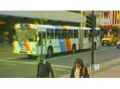 110 - A Bendy-bus in the City before being phased out