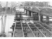 112 - Construction of the new Victoria Bridge in 1969