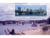 114 - Construction of the new Victoria Bridge in 1969