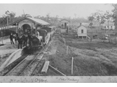 12 - Oxley rail station in 1876