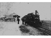 13 - Sandgate rail station in 1888