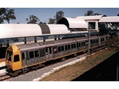 140 - Helensvale station after the re-opening of the Gold Coast rail line in 1996