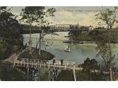 19 - The Albert rail bridge at Indooroopilly (opened 1875)