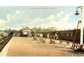 21 - Wynnum station in the early 1900's