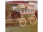 29 - A horse drawn omnibus that travelled along Gympie Road