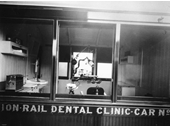 34 - A dental rail car for rail staff