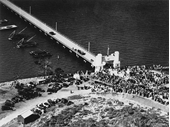 49 - The Opening of the Hornibrook Highway Bridge to Redcliffe in 1935