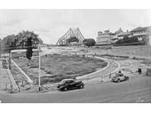 70 - The northern approach to the Story Bridge under construction